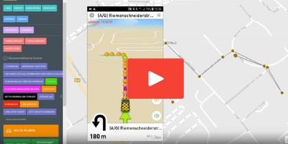 LKW Routenplanung